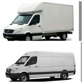 CHEAP MAN AND MOVERS 24/7 MAN WITH VAN MOVING VAN SERVICE HIRE VAN NATIONWIDE HOUSE REMOVALS