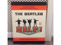 The Beatles HELP Canvas