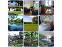 Self Catering Holiday Accommodation in Cornwall, Hengar Manor Park near Camelford