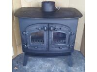 Villager kitchener wood burning stove wood burner woodburner log fire woodburning fire
