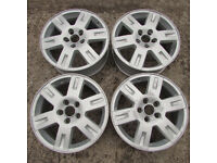 "Ford Mondeo 16"" 5 Stud Alloy Wheels x 4 - Part Refurbished (Focus/Smax/Cmax)"