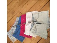 5 x pairs of size 8 shorts