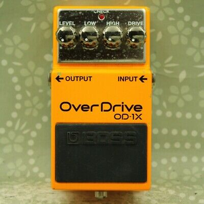 BOSS OD-1X Over Drive Guitar effect pedal