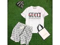 Gucci shirt and short
