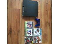 Ps3 120gb with 5 games