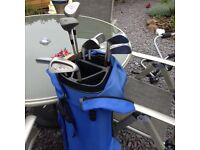 Golf Clubs & Bag Hardly Used