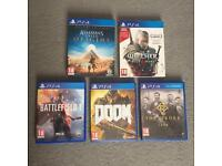 Ps4 Games bundle in excellent condition