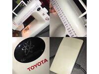 Toyota electronic sewing machine