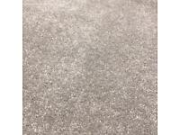 Grey carpet, used briefly in luxury show home. 290cm x 320cm