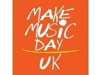 Musicians wanted to take part in Make Music Day