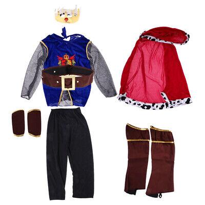 Prinz Kostüm Ritter Kinderkostüm Kinder Jungen Königskostüm Fasching Kostüm - Biber Jungen Kostüm