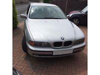 2000 BMW 520I SE SILVER