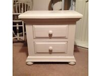Two drawer chunky chest