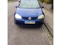 VOLKSWAGEN GOLF 1.6 FSI 2004 *** RUNS WELL BUT NEEDS ATTENTION *** £700 CHEAPEST IN THE COUNTRY ***