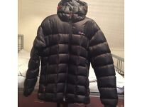 Berghaus popena 2.0 mens hooded hydrdown jacket large, barely ever used and in very good condition.