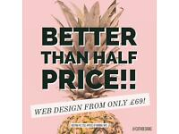 Better than half price offer!! | Professional and Affordable Web Design