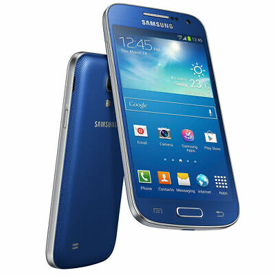 Samsung Galaxy S4 mini GT-I9195 - 8GB - Blue (Unlocked) Smartphone -