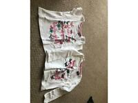 Girls t shirts size 1.5-2 years