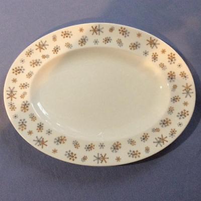 Wedgwood Snowstorm bone china oval 13 1/2