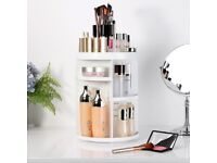 Makeup Organizer Cosmetic Holder with Adjustable Shelves-*BRAND NEW SEALED IN BOX*