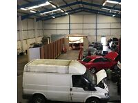 Mechancial Ramp and Workshop To Let