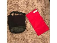 Bugaboo bag and change mat