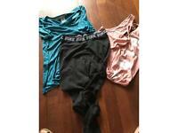 Pink@ Victoria Secret 2tops, 1 leggings Size M