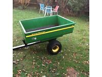 John Deere garden trailer