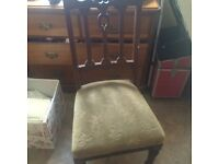 LOVELY SET OF ANTIQUE DINING CHAIRS