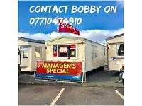 Static caravan for sale ocean edge holiday park 12 month season pet friendly park sea views
