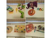 Toy bundle. Little Tikes, Frozen, Build and play