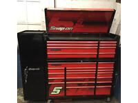 Snap on tool chest and side locker