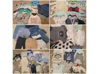 Baby boys bundle clothes and accessories 0-3 (big collecion)