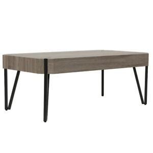 RUSTIC MODERN STYLING COFFEE TABLE (WO2448)