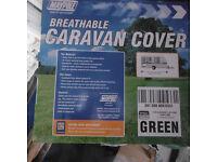 New caravan cover 17ft-19ft 4ply