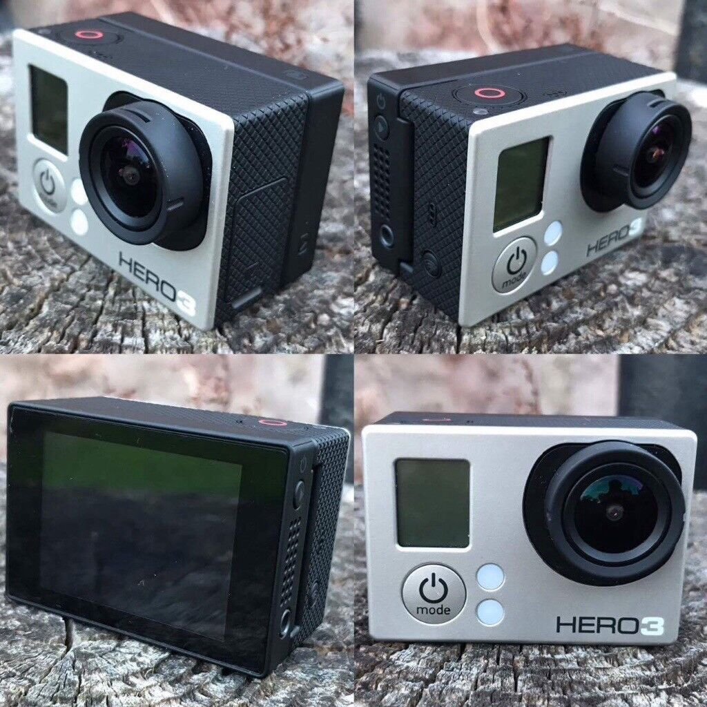 GoPro Hero 3 Silver Edition +accessories, all perfect condition