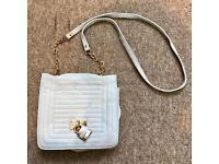 Miss Selfridge padlock & chain handbag