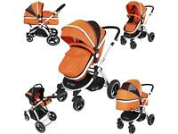 Baby stroller and car seat - eSafe