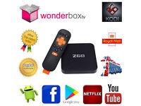 Z68 64 bit Octa Core 4K Android Smart TV Box, 2gb RAM 16gb ROM, KODI v16.1 Jarvis, Movies Live TV