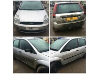 Ford Fiesta 2005 5 Door Silver paint code 62 Front Bumper All Parts Available
