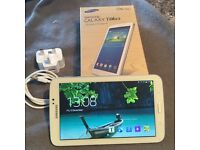 Samsung Galaxy Tab 3 SM-T210 8GB Wi-Fi 7in White Excellent Condition