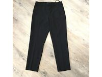 Topshop black petite trousers size Uk 6 new with tags