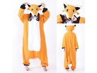 Fox animal onesie fancy dress