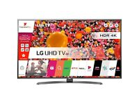 """LG 49UH661V 49"""" Freeview HD and Freesat HD and Freeview Play Smart 4K Ultra HD with HDR TV - Black"""