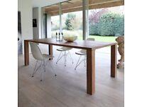 8 seater dining table - Ethnicraft Solid Teak - Minimalist design