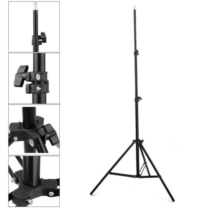 Kshioe 7ft Adjustable Studio Photography Light Speedlight Stand Bracket Tripod