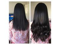 Hair extensions mobile service