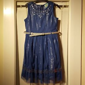 Two girls party dresses