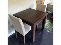 Next Extending Dining Table with 4 chairs