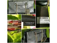 BRAND NEW WITH TAGS! OSPREY Luxury Leather Shoulder Bag RRP: £225 Extra soft luxury leather!